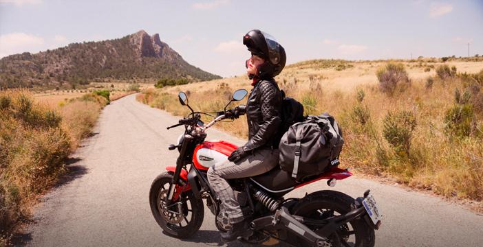 Ruta moto en Almería