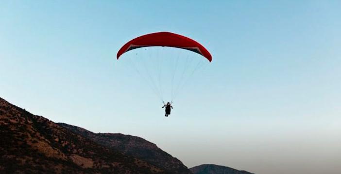 Paracaidas y parapente en Almería